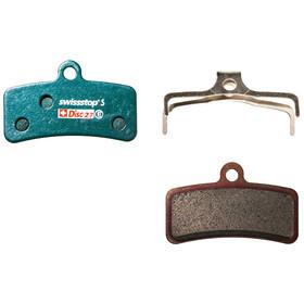 SwissStop Disc 27 Sintered Brake Pads Shimano Saint, Zee / TRP Quadiem SL, green